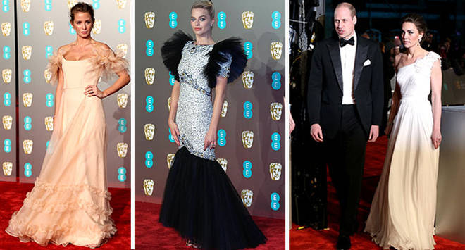 The stars were out in force for the Baftas - but whose look did you love the most?