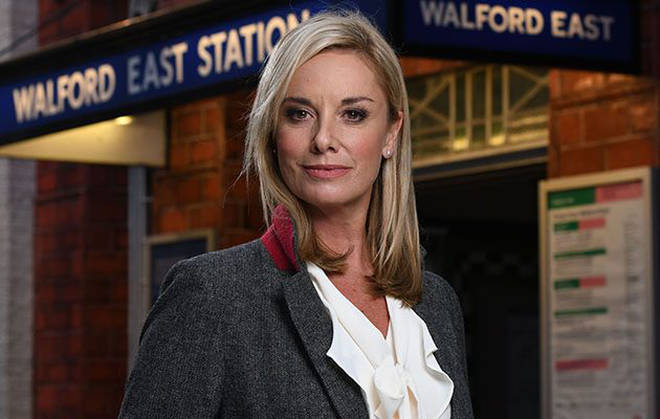 Tamzin returned to Eastenders as Mel Owen last year