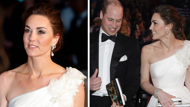 Kate Middleton and Prince William attend the 2019 BAFTAs