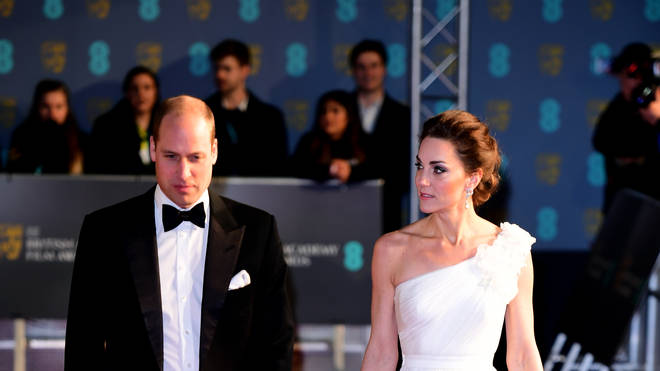 Kate Middleton wore an Alexander McQueen gown to the BAFTAs