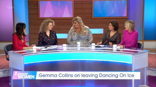 Gemma Collins opened up about her fertility issues on Loose Women today