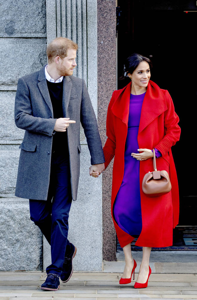 Meghan Markle has revealed she is expecting in April 2019