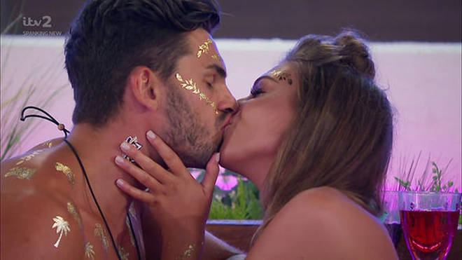 Adam and Zara got together during the last season of Love Island