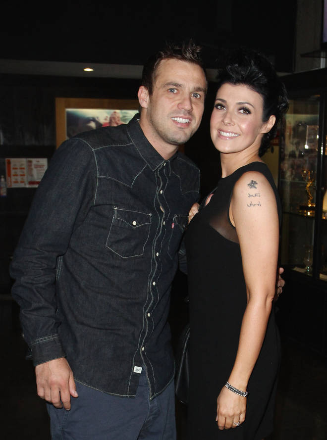 Kym Marsh and Jamie Lomas - pictured in 2012 - also have a daughter, Polly