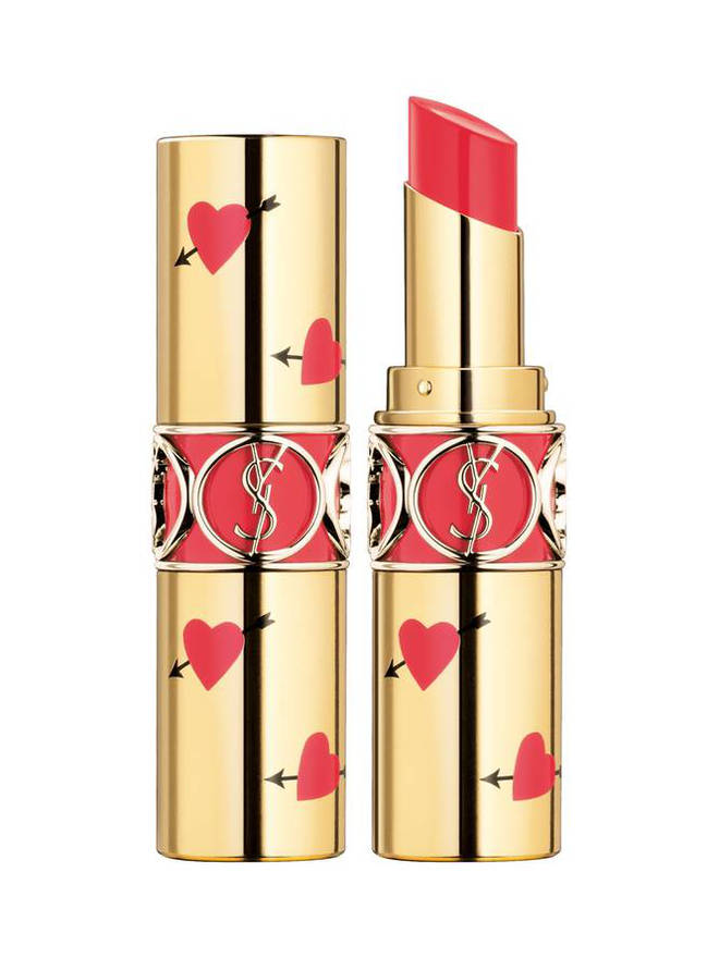 YSL Rouge Volupte Shine Hearts and Arrows