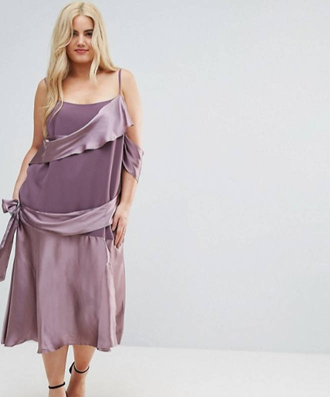 The ASOS Curve dress has been slammed on Twitter