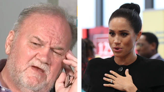 Thomas Markle has shared the emotional letter Meghan Markle wrote him in August 2018