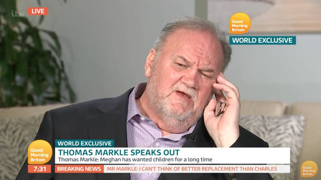 Meghan Markle's father Thomas Markle has spoken to the press many times