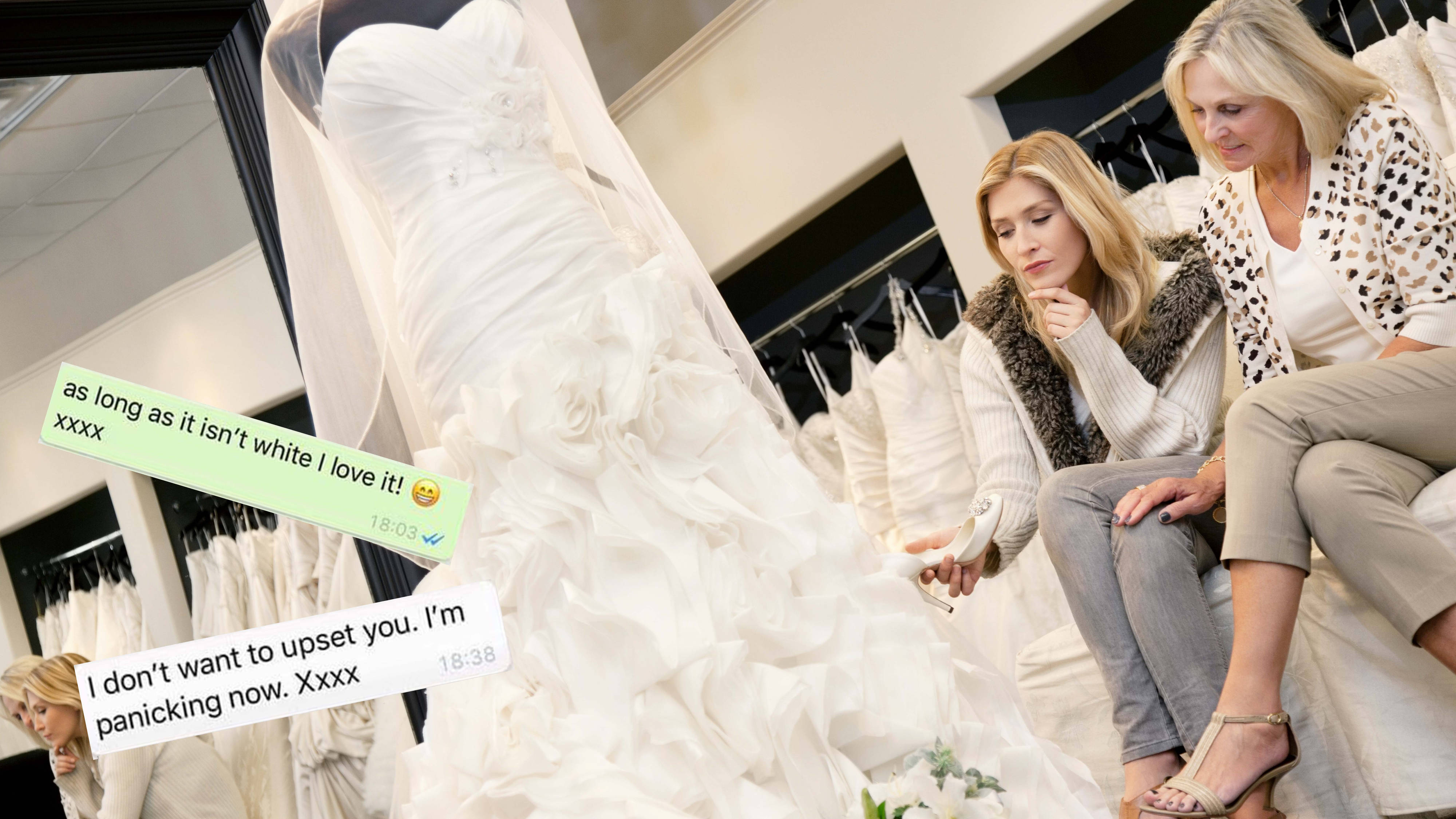 Wearing White To A Wedding.Bride To Be Furious After Mother In Law Insists On Wearing