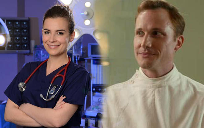 The two medical drama stars tied the knot after a three year romance