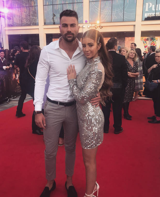 Sam accused Georgia of being unfaithful following their split