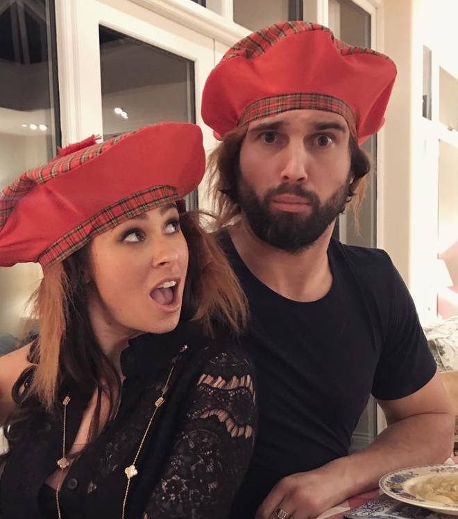 Camilla Thurlow and Jamie Jewitt are still going strong