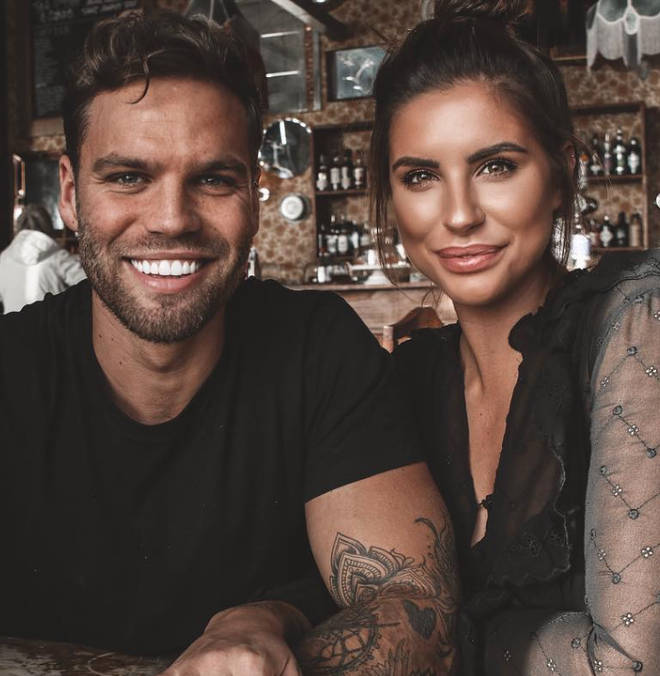 Jess and Dom are now married after meeting on 2017's Love Island