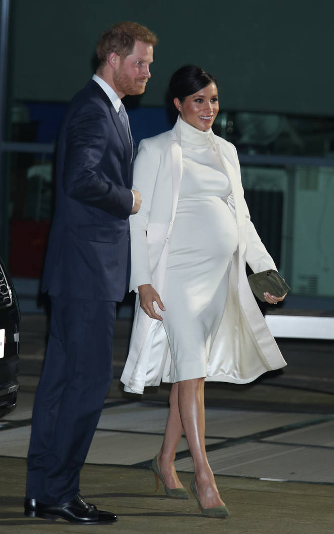 Meghan Markle recycled her coat, shoes and clutch bag