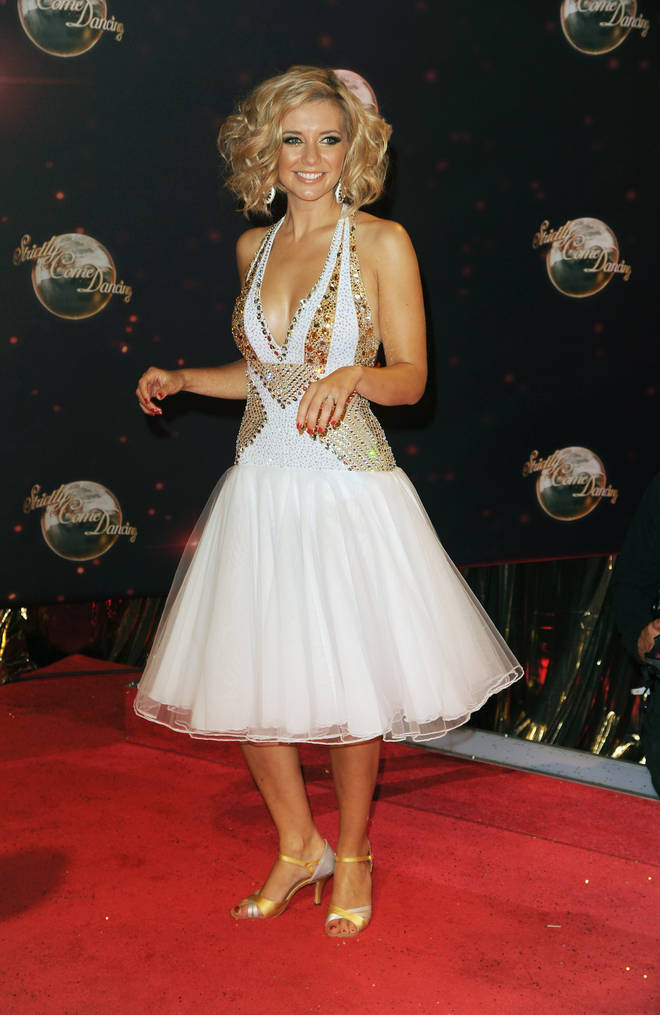 Rachel competed on Strictly in 2013