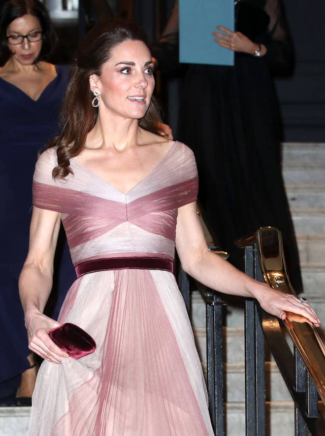 Kate Middleton was compared to Sleeping Beauty in the stunning pink gown