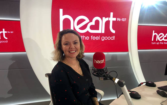 Charlie Brooks chatted to Jamie and Lucy on Heart Breakfast this morning