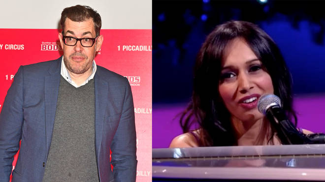 Richard Osman is dating jazz singer Sumudu Jayatilaka