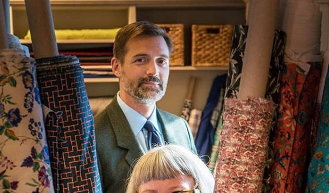 Patrick Grant is a judge on BBC2's The Great British Sewing Bee