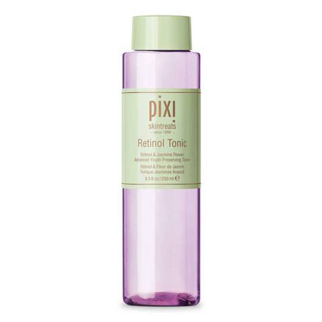Pixi Retinol Tonic will do wonders for your skin without irritation