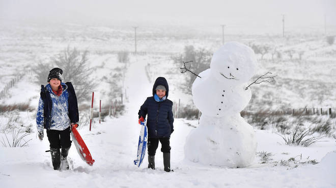 Temperatures could plummet to -2C in a matter of days