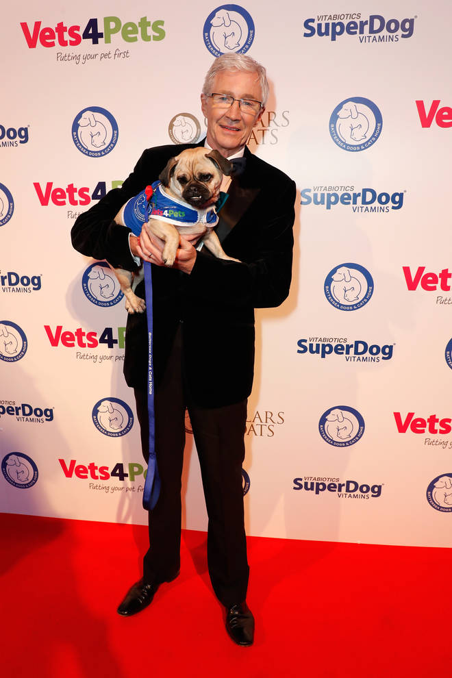 Paul O'Grady is well known for his love of our four-legged friends