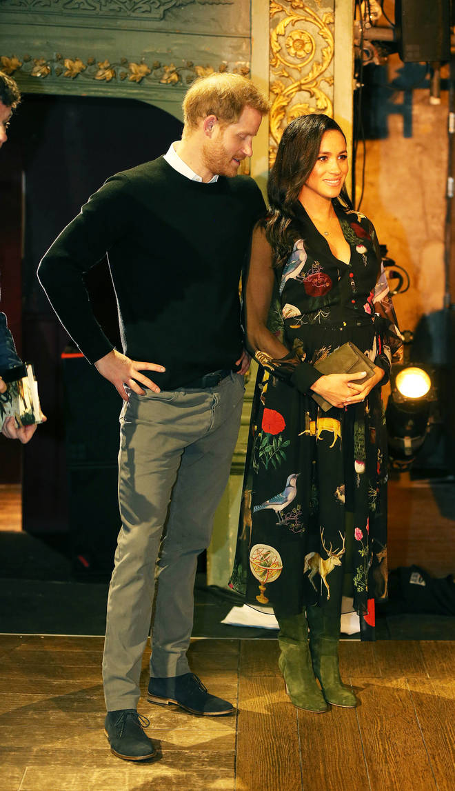 Meghan Markle and Prince Harry have shared their excitement over becoming parents