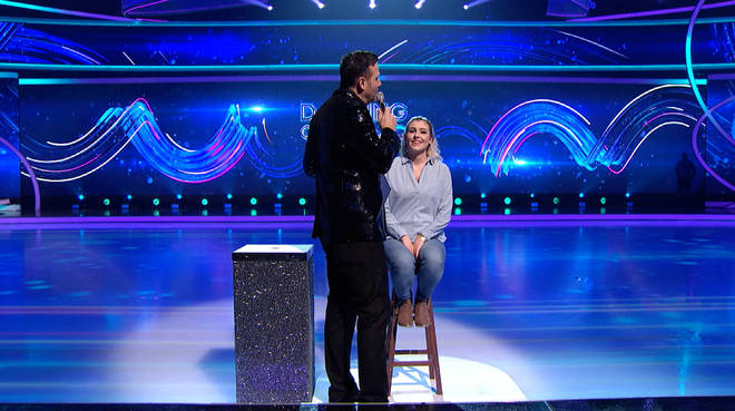 A Dancing On Ice crew-member proposed to his girlfriend last night