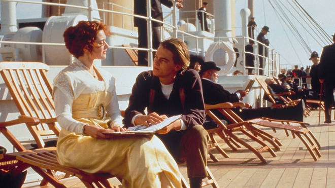 Kate Winslet and Leonardo Di Caprio starred in the film about the doomed ship
