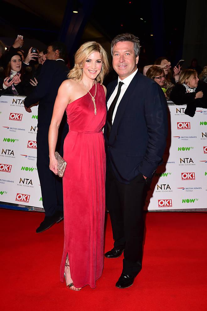 John Torode and Lisa Faulkner met in 2010 when the actress won Celebrity Masterchef