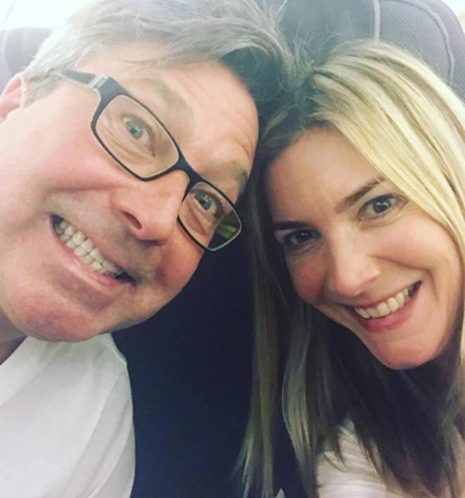 John Torode and Lisa Faulkner are now both celebrity chefs