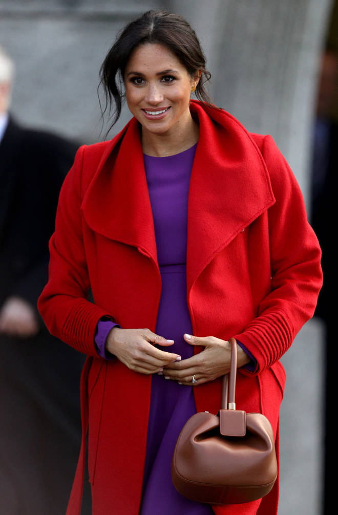 Meghan Markle has reportedly flown to New York for her baby shower with 15 close friends