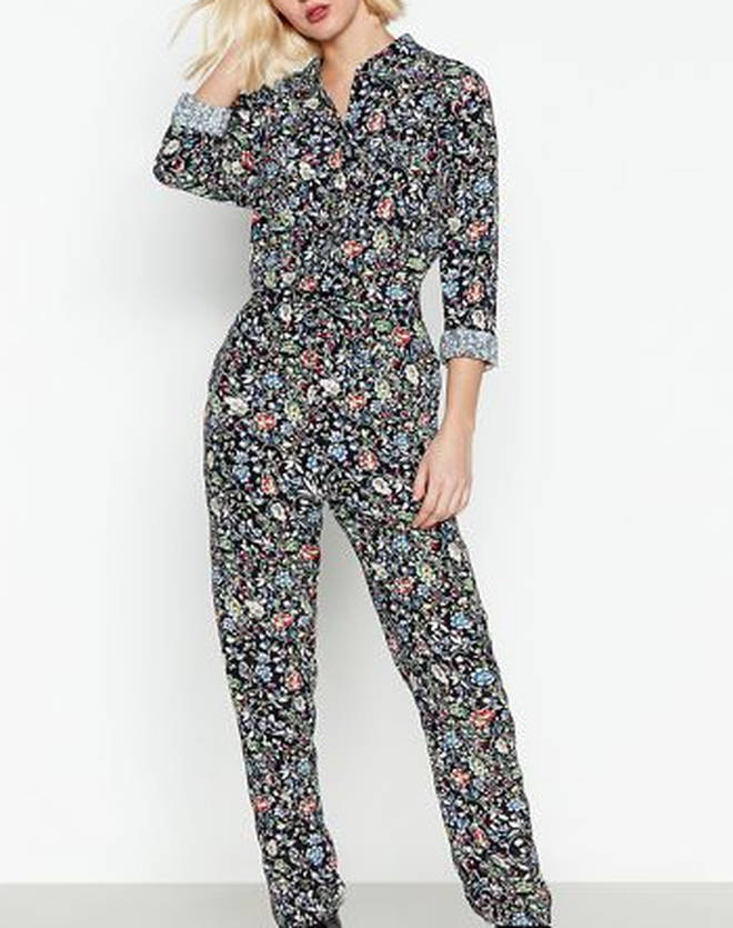 You can shop Kelly's jumpsuit at Debenhams
