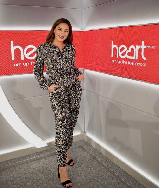Kelly Brook and JK are standing in for Jamie Theakston and Lucy Horobin on Heart Breakfast this week
