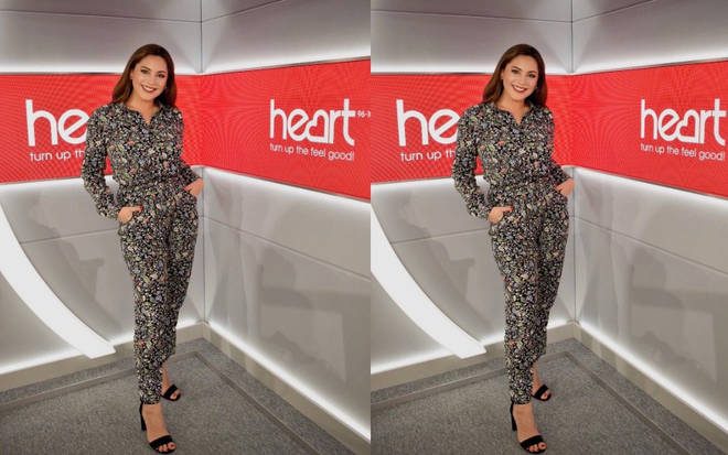 Kelly Brook is presenting Heart Breakfast this week