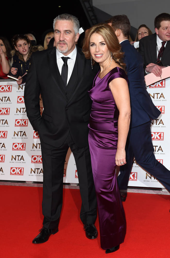 Paul Hollywood with his ex-wife Alex