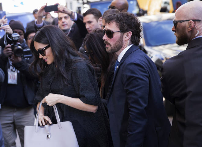 Meghan Markle attempted to keep a low profile during the visit