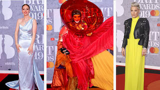 Vote for your favourite look from the Brits' red carpet