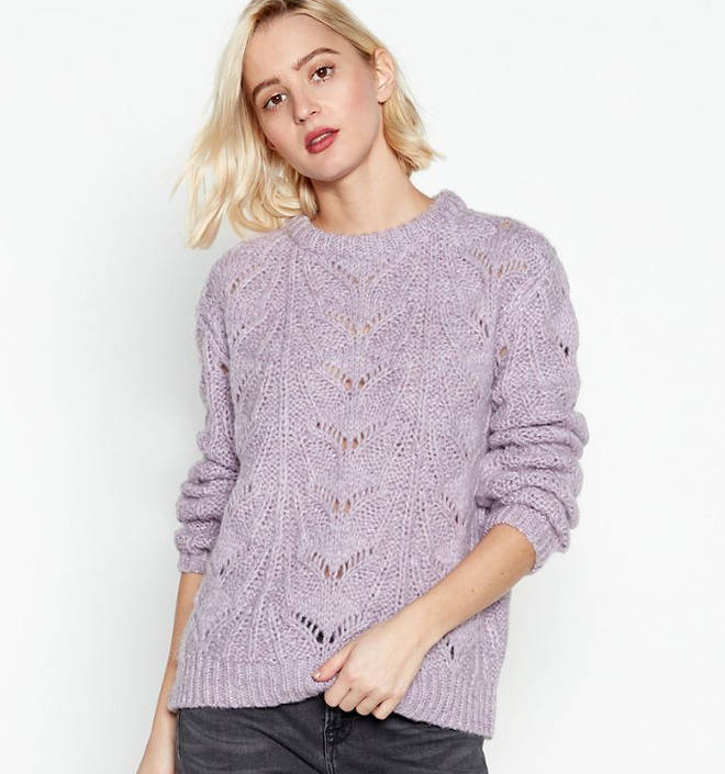 Kelly wore this jumper from Nine by Savannah Miller
