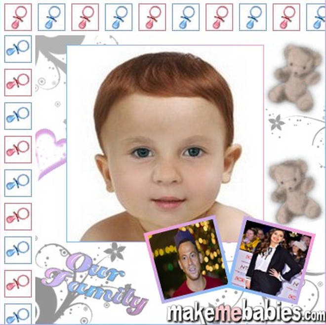 Is this what Stacey and Joe's baby will look like?
