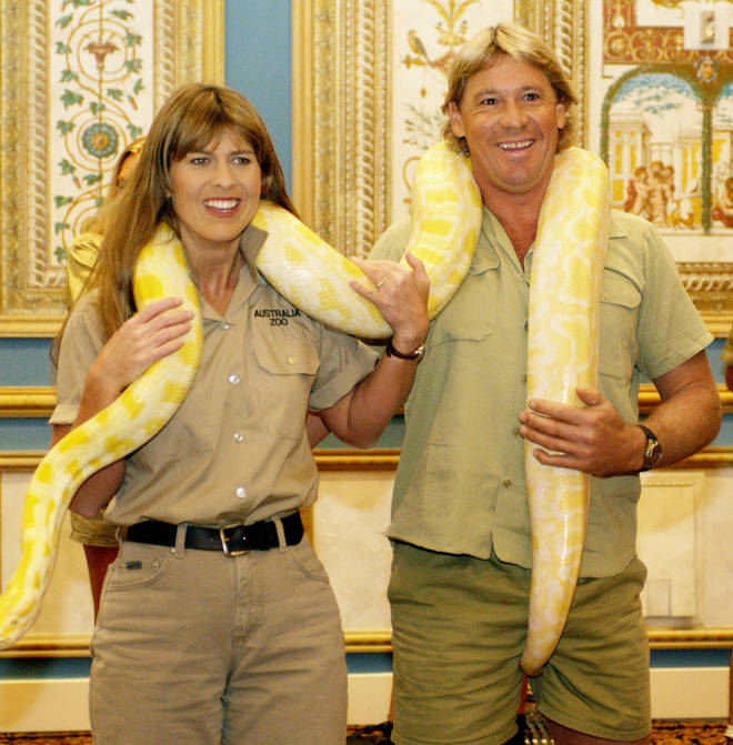 The crocodile hunter was married to Terri Irwin, who he wed in 1992