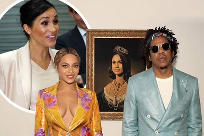 Beyonce and Jay Z shared a letter for the Duchess of Sussex