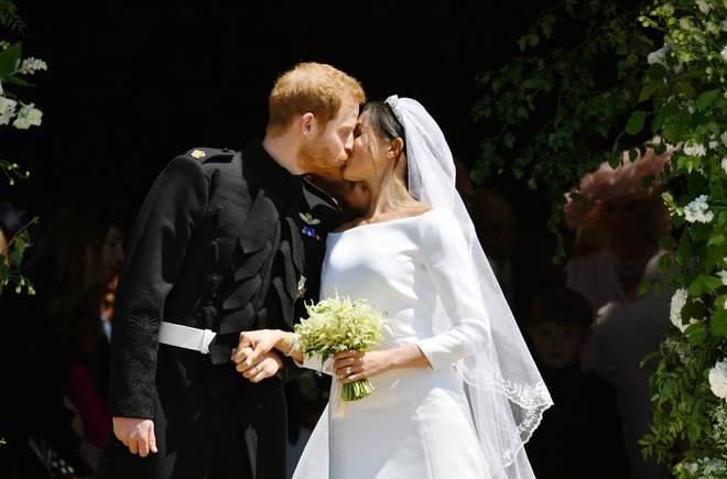 Meghan married Prince Harry in May 2018