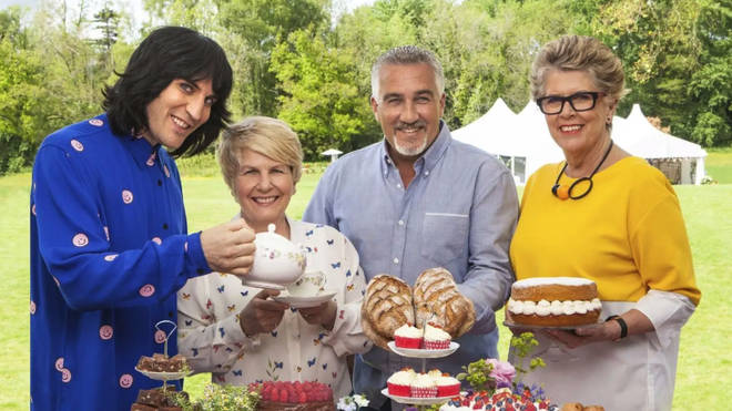 The Great Celebrity Bake Off is back!