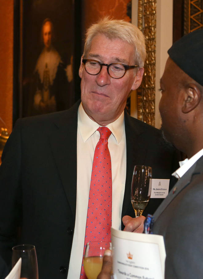 Jeremy Paxman is known as the fearsome host of University Challenge
