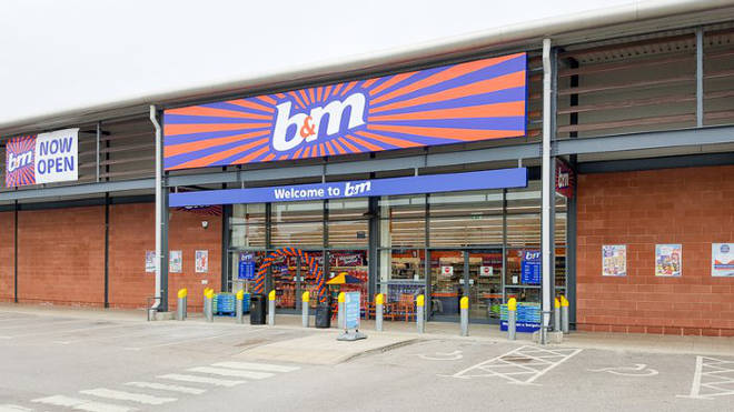 B&M says it stocks its 600 shops with new items everyday