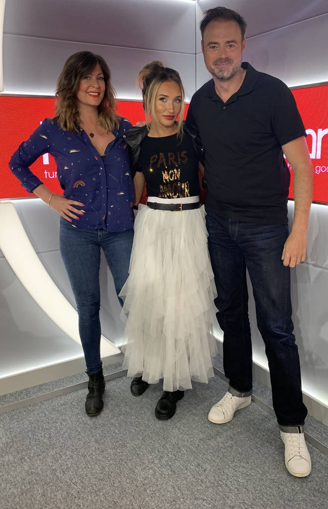 Megan McKenna visited Heart London Breakfast to talk about Celebs Go Dating