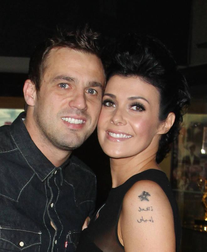 Kym Marsh with ex-husband Jamie Lomas