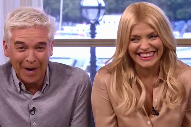 Holly and Phil erupting with laughter at a weatherman's name has been voted the funniest TV moment of the decade