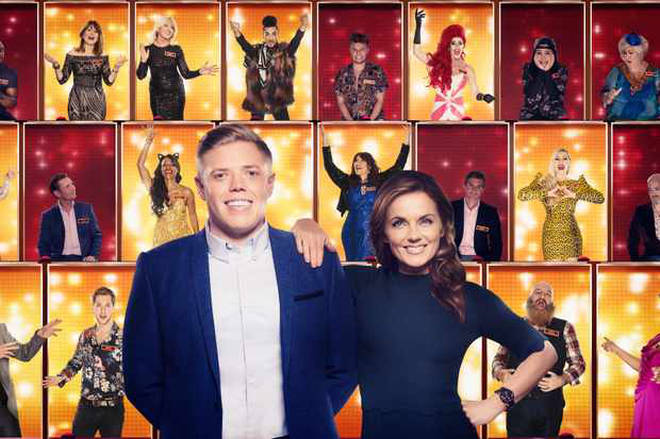 Rob Beckett and Geri Horner host All Together Now